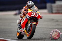 Tikung Petrucci di lap terakhir, Marquez juarai MotoGP Misano