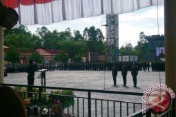 Kapolda Pimpin Upacara Korps Brimob Ke-72