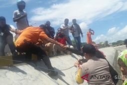 KM Ilham jaya ditemukan seluruh penumpang selamat
