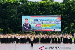 Amankan Pilkada,  Kepolisian kerahkan personel