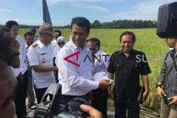 Menteri Pertanian panen padi di Bombana