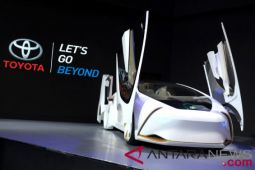 Kendaraan masa depan yang mejeng di GIIAS 2018