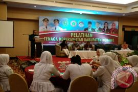 PKPD-Konawe Gelar Pelatihan Peningkatan Kapasitas Tenaga Keperawatan