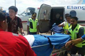 Korban helikopter jatuh Morowali kembali ke Jakarta
