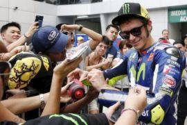 Klasemen sementara usai seri Catalunya, Rossi ke dua