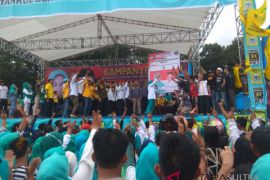 Ribuan simpatisan Asmani-Syahrul hadiri kampanye akbar