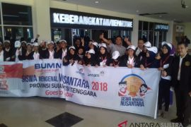 23 peserta SMN asal Sultra diberangkatkan ke Jabar