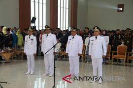 Gubernur Sulawesi Tenggara lantik dua kepala daerah