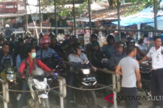 H+2, penumpang di Pelabuhan Tampo meningkat