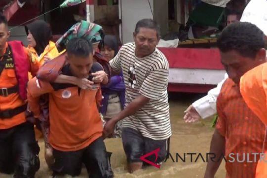 Puluhan rumah warga dibantaran sungai terendam banjir