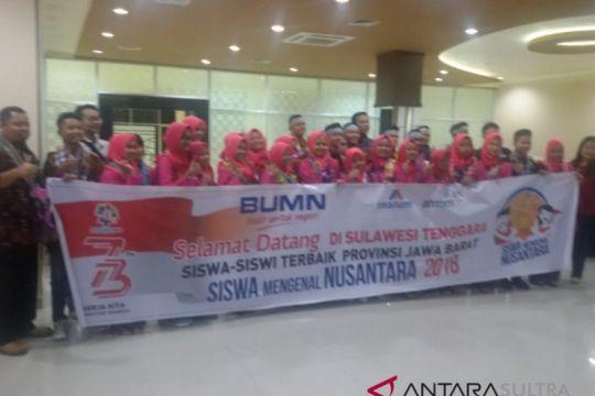 30 siswa SMN Jabar tiba di Kendari