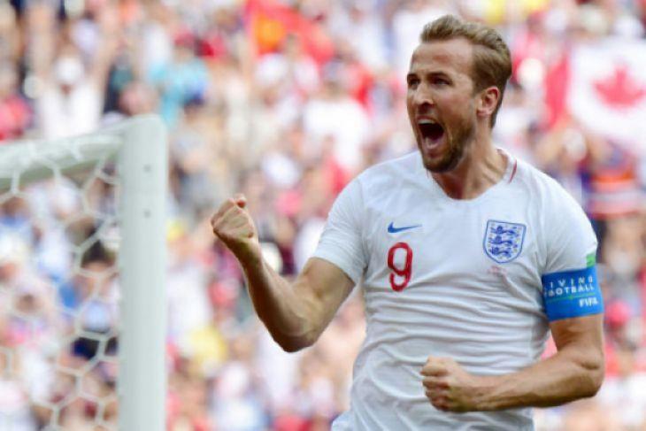 Top skor sementara Piala Dunia 2018, Harry Kane lewati rekor Ronaldo