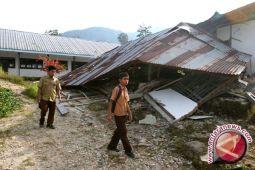 Delapan Sekolah di Garut Rusak Akibat Gempa