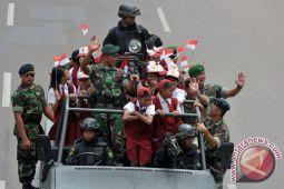 TNI pamerkan alutsista di pusat perbelanjaan Bengkulu