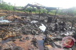 Aparat gabungan amankan penutupan tambang minyak ilegal