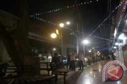 Wisata pedestrian sudirman Palembang dan pasar pempek dibuka