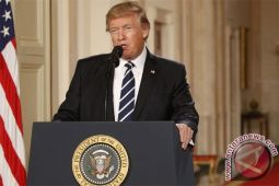 Trump sampaikan selamat ke Jokowi atas pernikahan Kahiyang