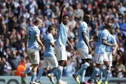 Manchester  City hancurkan Spurs 4-1