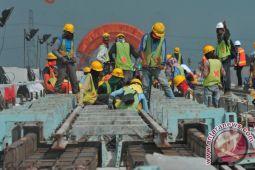 Pendanaan pembangunan LRT Palembang tidak ada kendala