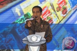 Untung kita punya Menteri Susi kata Jokowi