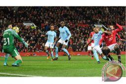 City kalahkan United saat derby Manchester