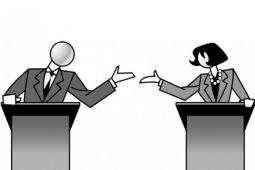 Telaah- Debat Capres berbahasa Inggris berpotensi melanggar Undang-undang