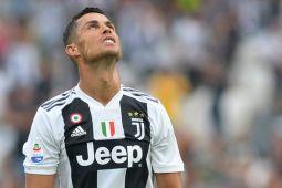 Cristiano Ronaldo ukir gol perdana di Juve