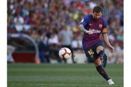 Messi terus asah akurasi tendangan penalti