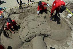 Festival Patung Pasir Pantai Serang