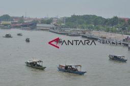 Kapal pencari harta karun Sungai Musi