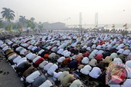 Umat Islam Magelang gelar shalat Idul Adha