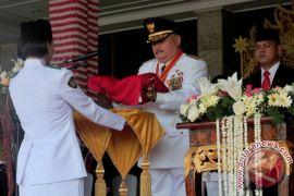 Gubernur Sumsel 17 kali jadi inspektur upacara bendera