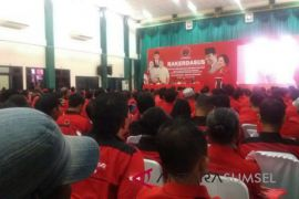 PDIP Sumsel masih menunggu penyerahan alat paraga kampanye