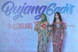 Promosi budaya lewat Bujang Gadis Palembang