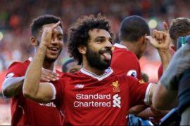 Salah Kembali cetak gol saat Liverpool taklukkan Huddersfield