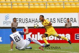 Arema Bantai Sriwijaya FC