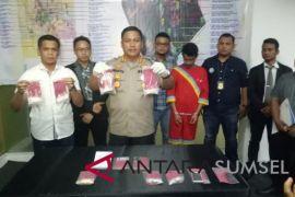 Pria asal Malaysia tertangkap sembunyikan sabu-sabu