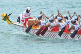 Indonesia raih dua medali emas kejuaraan perahu naga ASia