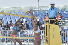 Asian Games (Voli Pantai) - Tim putri Indonesia kembali petik kemenangan