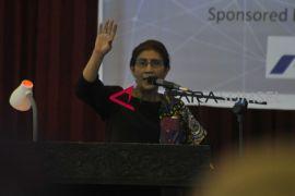 Menteri Susi ajak mahasiswa jaga kedaulatan laut Indonesia