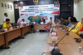 KPU tetapkan 1.014 DCT anggota DPRD Sumsel
