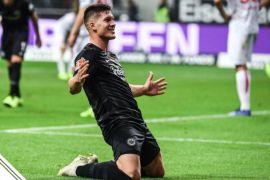 Lima gol Jovic bantu Frankfurt menang 7-1 atas Duesselforf