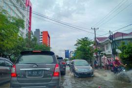 Banjir Kepung Kota Palembang