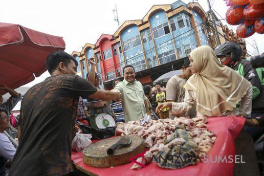 Dodi Kunjungi Pasar 26 Ilir