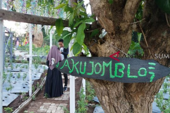 Baturaja miliki objek wisata taman bunga