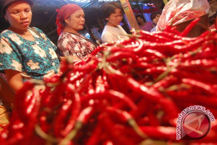 Kenaikan harga cabai merah terkerek inflasi