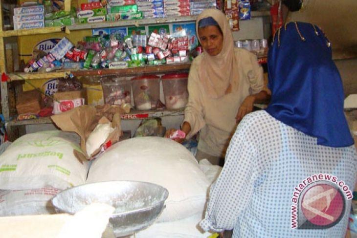 Pedagang km 5 palembang jual beras medium