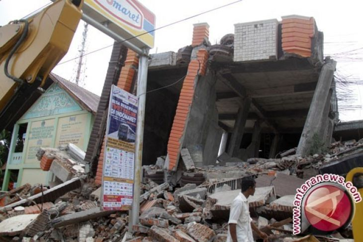 Gempa 4,4 sr merusak ratusan rumah
