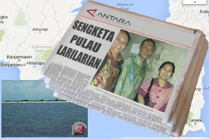 Gubernur Kalsel Risau Soal Pulau Larilarian