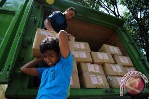 Pendistribusian surat suara Pilgub Jateng lancar